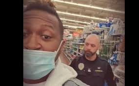 Video shows black men being escorted out of Walmart for wearing masks
